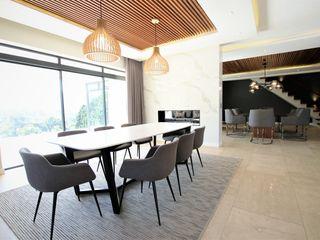 JSD Interiors غرفة السفرة خشب White