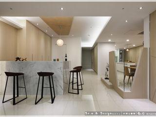 紓壓養身 深厚底蘊簡約休閒宅 木博士團隊/動念室內設計制作 餐廳