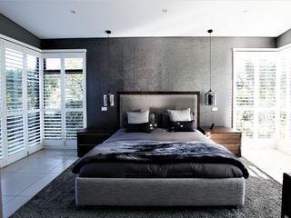 JSD Interiors غرفة نوم Grey