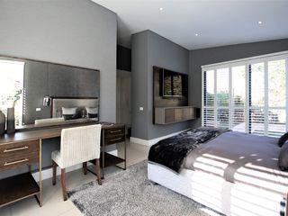 JSD Interiors غرفة نوم خشب Grey