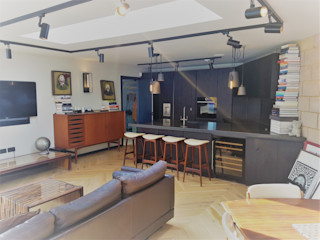 East Dulwich New Build PAD ARCHITECTS Modern kitchen