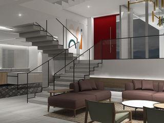Design Group Latinamerica Salas de estilo ecléctico