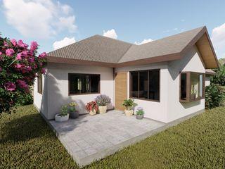 Ekeko Arquitectura Müstakil ev Kontraplak Beyaz