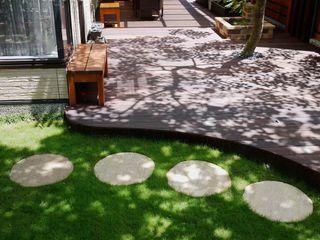 大地工房景觀公司 Jardin de rocaille Ardoise Vert