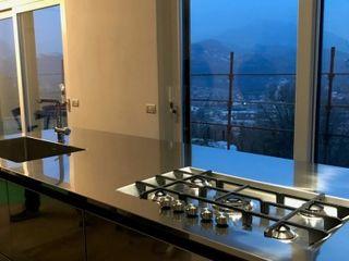 SteellArt Modern style kitchen Iron/Steel