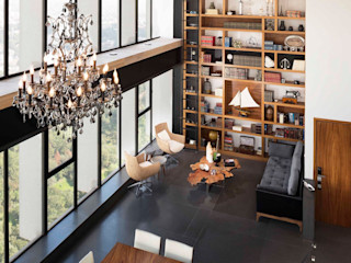 Global Woods Moderne woonkamers