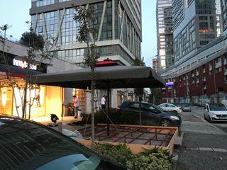 Akaydın şemsiye Voortuin Aluminium / Zink Grijs
