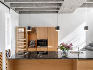 Corneille Uedingslohmann Architekten Módulos de cocina Mármol