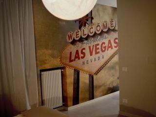 Bevi a Las Vegas Federica Rossi Interior Designer Camera da letto moderna