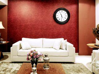Adriana Scartaris: Design e Interiores em São Paulo غرفة المعيشة Red