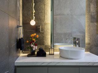 Erika Winters Design Nowoczesna łazienka