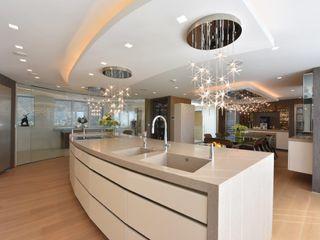 Mr & Mrs Unsworth Diane Berry Kitchens Built-in kitchens Beige