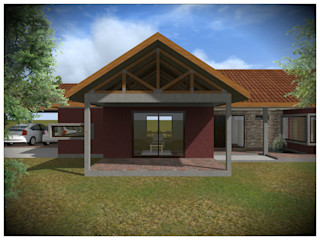 Vicente Espinoza M. - Arquitecto Country style house