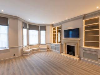 Three Storey Maisonette - Chelsea Prestige Architects By Marco Braghiroli Living room