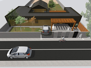 Vicente Espinoza M. - Arquitecto 一戸建て住宅 木
