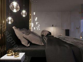 Intellio designers Minimalist bedroom