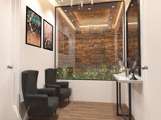 V Arquitectura Moderne Wohnzimmer