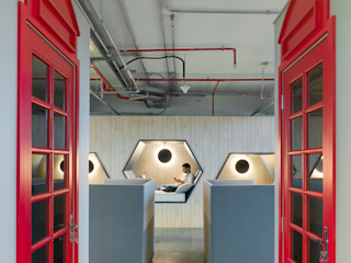 Spazhio Croce Interiores Espaces commerciaux modernes