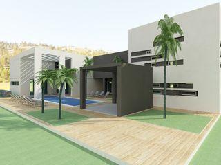MEF Architect Cliniques modernes Béton Blanc