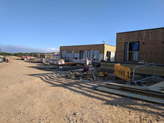Gwel an Mor October 2018 - Next Phase of Resident Lodges Building With Frames Prefabricated home Wood