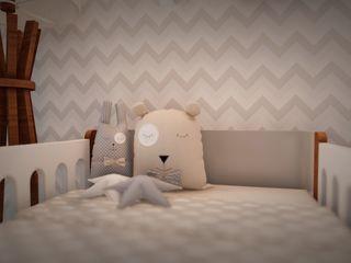 Studio MP Interiores غرف الرضع MDF Grey