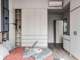 達譽設計 Scandinavian style bedroom