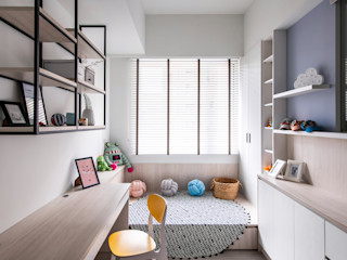 達譽設計 Scandinavian style study/office