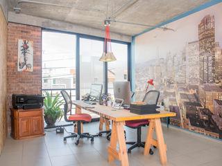 Constructora e Inmobiliaria Catarsis Oficinas y Tiendas Ladrillos Azul