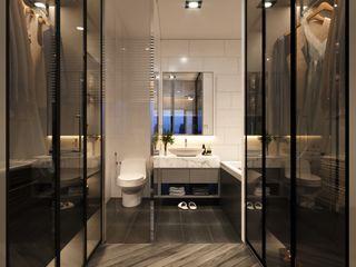 ICON INTERIOR Baños de estilo moderno