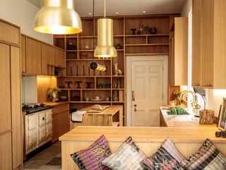 The Georgian Manor House Kitchen Papilio Scandinavian style kitchen