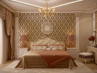Студия интерьерного дизайна happy.design Classic style bedroom