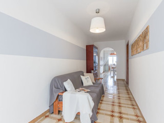 Anna Leone Architetto Home Stager Mediterranean style corridor, hallway and stairs