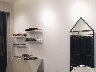 viku 辦公空間與店舖 木頭 White