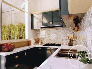 viku 廚房收納櫃與書櫃 木頭 Grey