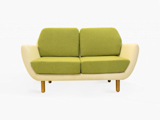 viku 客廳沙發與扶手椅 布織品 Green
