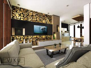 viku 客廳 木頭 Wood effect