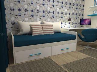 Decordesign Interiores Дитяча кімнатаЛіжка та дитячі ліжечка Білий