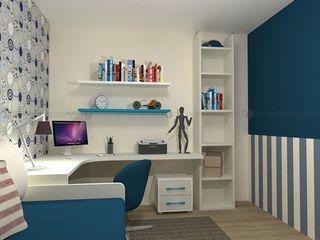 Decordesign Interiores Дитяча кімнатаСтоли та стільці Білий