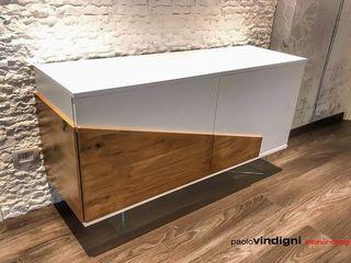 """Madia """"Birba"""" Abita design srl / Paolo Vindigni SoggiornoArmadietti & Credenze"""
