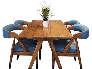 viku 餐廳桌子 木頭 Brown