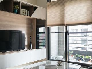 耀昀創意設計有限公司/Alfonso Ideas Scandinavian style living room