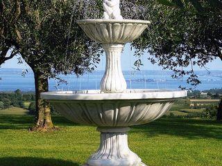 Tonazzo Srl Garden Accessories & decoration Concrete White