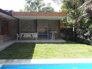 m2 estudio arquitectos - Santiago Balcones y terrazas de estilo minimalista Madera