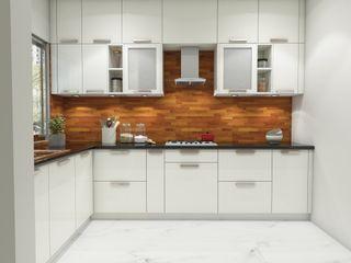 Paimaish Built-in kitchens MDF White