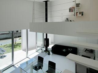 稲山貴則 建築設計事務所 Stairs Iron/Steel White