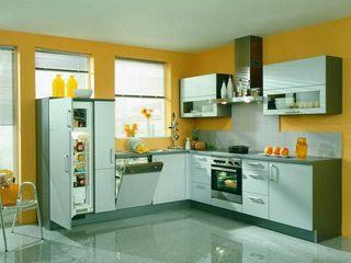 كاسل للإستشارات الهندسية وأعمال الديكور والتشطيبات العامة KitchenCutlery, crockery & glassware MDF Yellow