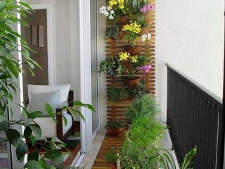 Arkited Paisajismo de interiores Fibra natural Blanco