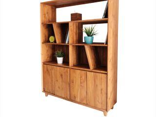 viku 客廳餐具櫃 木頭 Brown