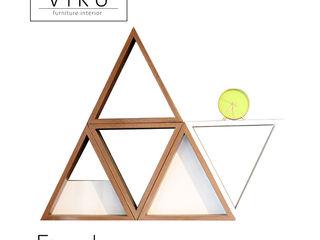 viku 客廳配件與裝飾品 木頭 Brown