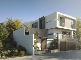 CODIAN CONSTRUCTORA Rumah Minimalis White